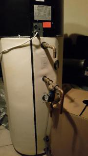 Warmwasser-Wärmepumpe für