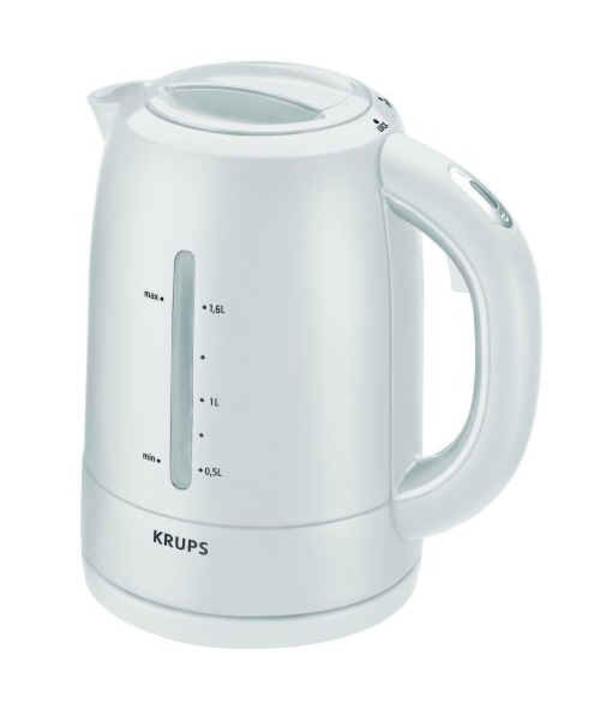wasserkocher weiß, krups f lf1 41 proedition, neuwertig  ~ Kaffeemaschine Heißbrühsystem