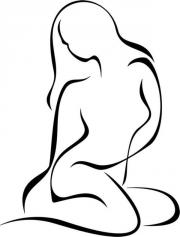 weibl. schlankes Fotomodell,