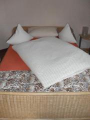 Weiden / Rattan Bett