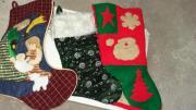 Weihnachtsdeko Nikolausstiefel aus