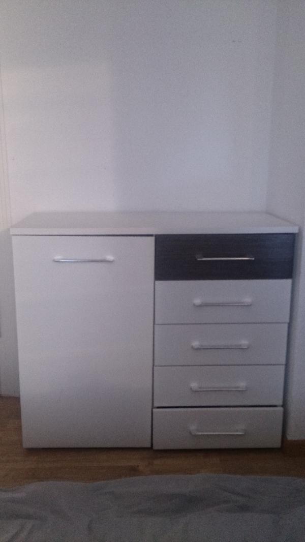 schubladen weiss kaufen gebraucht und g nstig. Black Bedroom Furniture Sets. Home Design Ideas