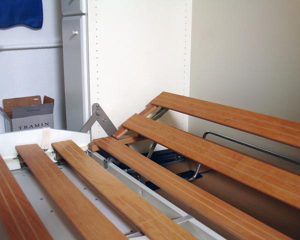 weisses schrankbett g stebett 140 in berlin schr nke. Black Bedroom Furniture Sets. Home Design Ideas