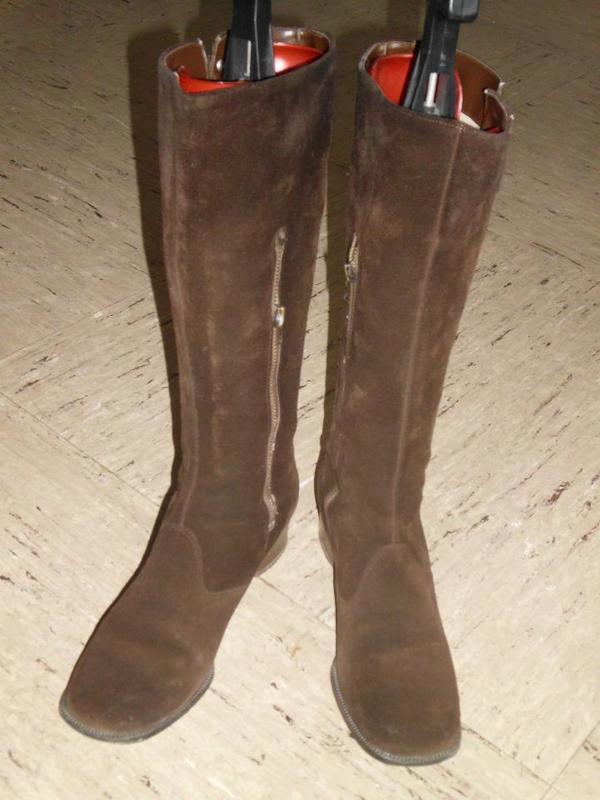 Wildleder Stiefel Gr. » Schuhe, Stiefel