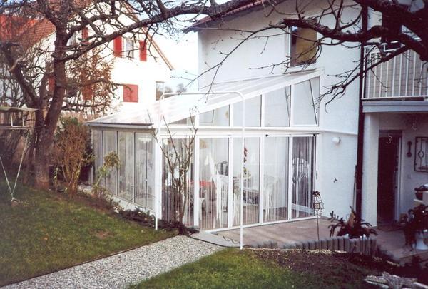 Wintergarten Wetterschutzverglasung In Esslingen