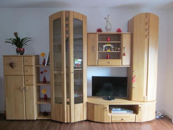 massive wohnwand neu und gebraucht kaufen bei. Black Bedroom Furniture Sets. Home Design Ideas