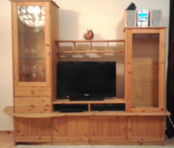 wohnwand kiefer kleinanzeigen m bel wohnen. Black Bedroom Furniture Sets. Home Design Ideas