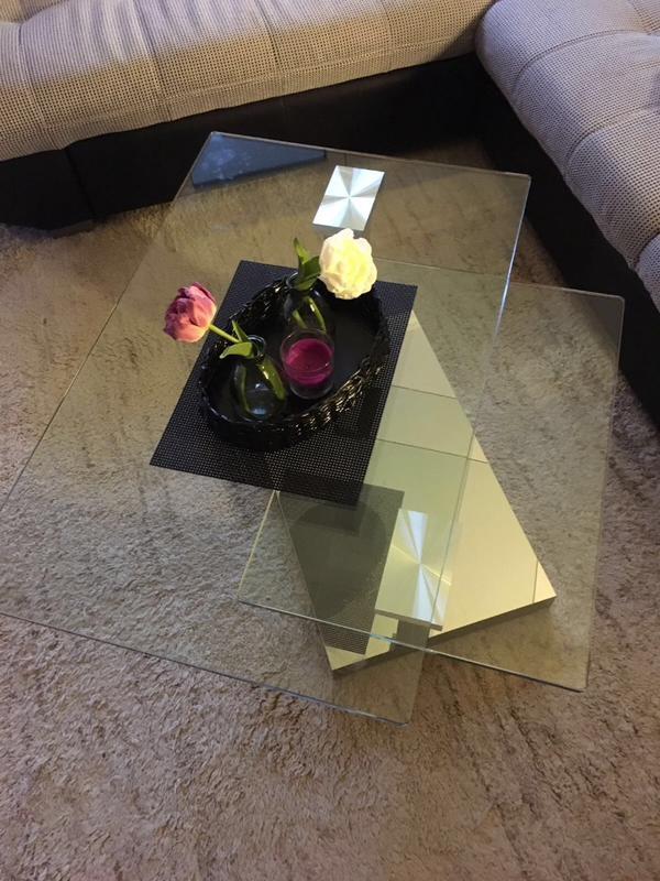 wohnzimmer glastisch: glastisch wohnzimmer tisch in kreis