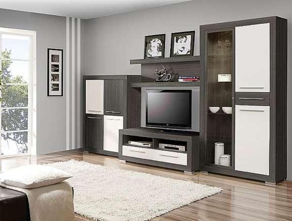 wohnzimmer m bel set 4 tlg in leverkusen wohnzimmerschr nke anbauw nde kaufen und verkaufen. Black Bedroom Furniture Sets. Home Design Ideas