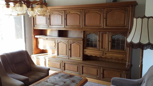Wohnzimmerschrank eiche rustikal in regensburg wohnzimmerschr nke anbauw nde kaufen und - Wohnzimmerschrank eiche rustikal ...