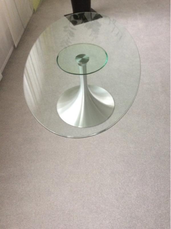 wohnzimmertisch oval neu und gebraucht kaufen bei. Black Bedroom Furniture Sets. Home Design Ideas