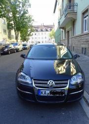 wunderschöner schwarzer VW