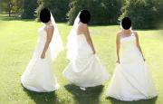 Wunderschönes Hochzeitskleid zu