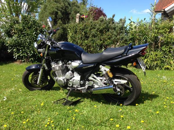 yamaha xjr 1300 in aholfing yamaha ber 500 ccm kaufen. Black Bedroom Furniture Sets. Home Design Ideas