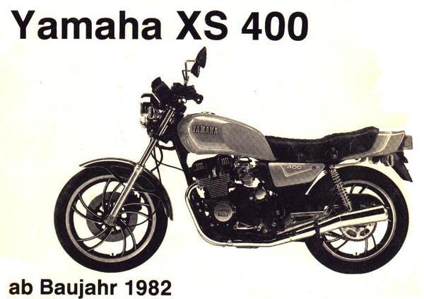 yamaha xs 400 ab 82 reparaturanleitung in bochum. Black Bedroom Furniture Sets. Home Design Ideas