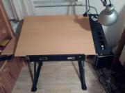 Zeichentisch / Schreibtisch , mit