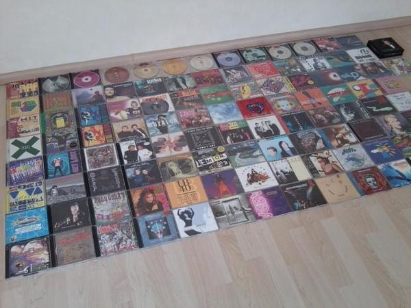 113 CDs, CD Sammlung, CD, CDs, Musik CD, Audio CD, Compact Disc, Body Count, Slade, Toto, Stevie B. - Wiesloch - CD Sammlung, 113 Stück.Einzeln ab 3 EUR oder alle 113 Stück zusammen für 160 EUR.- 7 Doppelalben (je 7 EUR).- 27 Alben (je 5 EUR). - 79 Singles je (3 EUR).--Doppel-Album-VIVA - Viva Dance Vol.10 (2 CDs)BRAVO - Bravo Supershow 2000 (2 CDs)Bes - Wiesloch