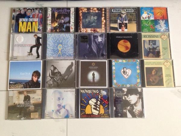 19 CD s Pop Rock