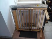 1x Schwenk-Treppenschutzgitter