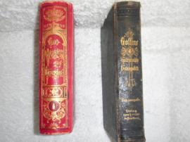 2 Alte Bücher Auflage 1886: Kleinanzeigen aus München Bogenhausen - Rubrik Komplette Sammlungen, Literatur