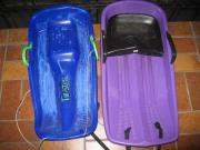 2 Plastikschlitten