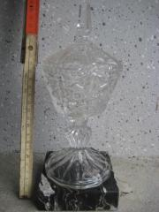 2 Pokale aus Bleikristall Kristallglas