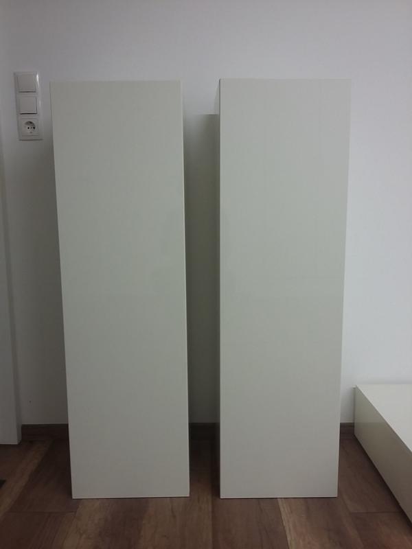 2 st ck h ngeschr nke weiss in bregenz. Black Bedroom Furniture Sets. Home Design Ideas