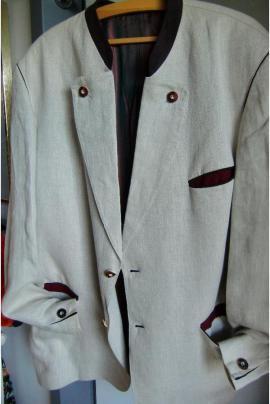 Sonstige Kleidung - 2 Trachtensakkos Leinen von Karl