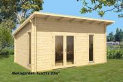 20 m² Gartenhaus,