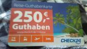 250EUR Rabatt Reisegutschein