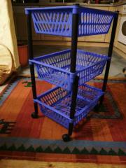 3 Körbe Aufbewahrungskörbe aus Küchenwagen