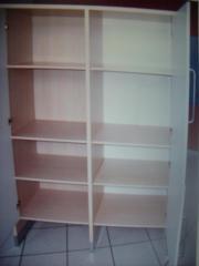 3 Küchenschränke, komplett oder einzeln in ahorn, Türen weiß in ... | {Küchenmöbel einzeln 66}