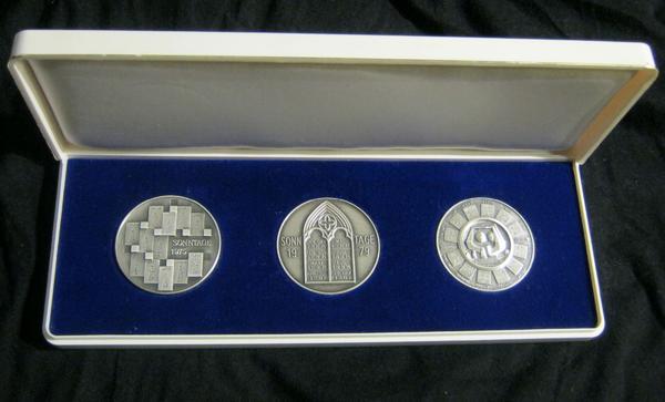 3 Medaillen 1000 1000 Silber