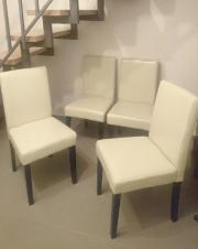 4 Stühle Leder