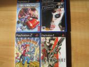 4x PS2 Spiele +