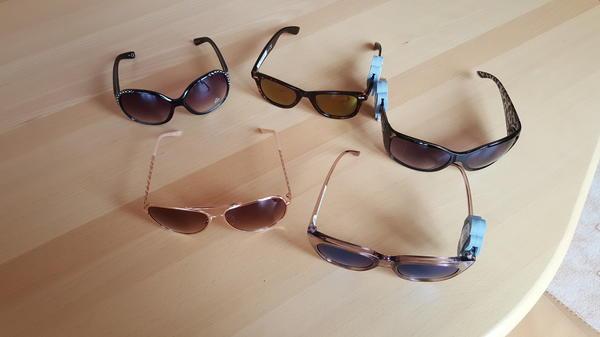 5 neue Sonnenbrillen von six - Ostfildern - Ich verkaufe 5 neue Sonnenbrillen von six Wert ca über 50 EUR Bei mir alle zusammen für 20 EUR.Abholung bevorzugt oder gegen Gebühr auch per Post - Ostfildern