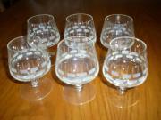 6 Cognac-Gläser
