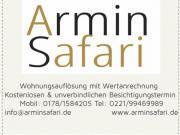 A. Safari Haushaltsauflösung,