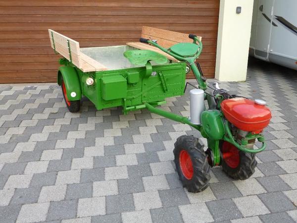 agria 4000 mit aufsitzanh nger m hbalken und zubeh r in alfdorf traktoren. Black Bedroom Furniture Sets. Home Design Ideas