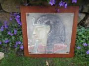 alte ägyptische Wandplatte