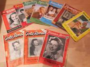 alte Romanhefte Schmöker Autozeitschriften 1960