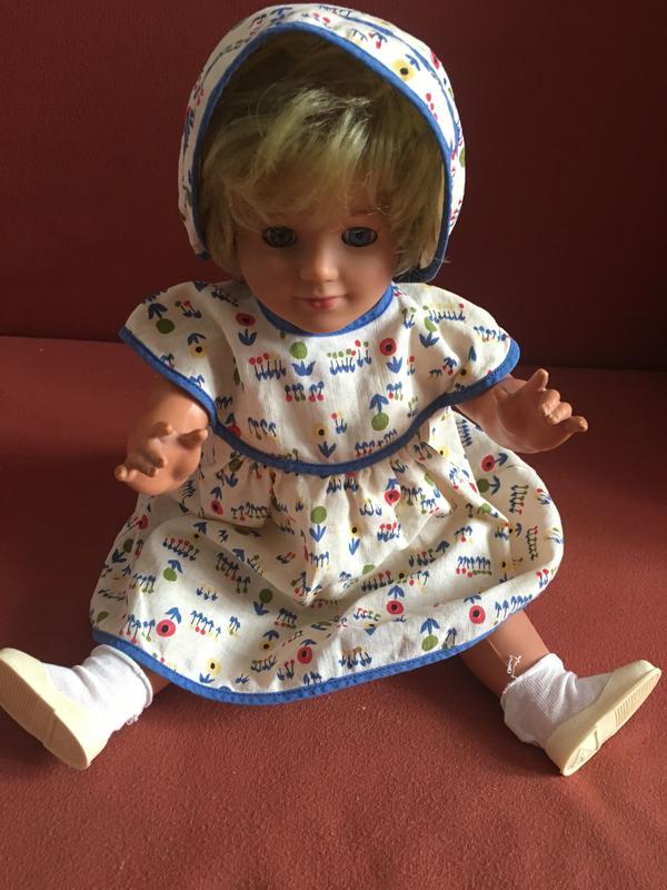 Alte Schildkröt Puppe mit süßer