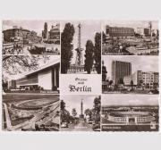 Ansichtskarte aus dem geteilten Berlin