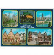 Ansichtskarte Frankfurt am Main 1970