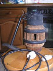 Antike Holzradnaben