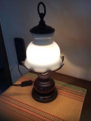Antike Tischlampe
