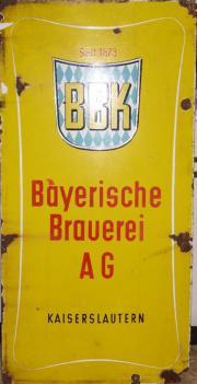 Antikes BBK Bier