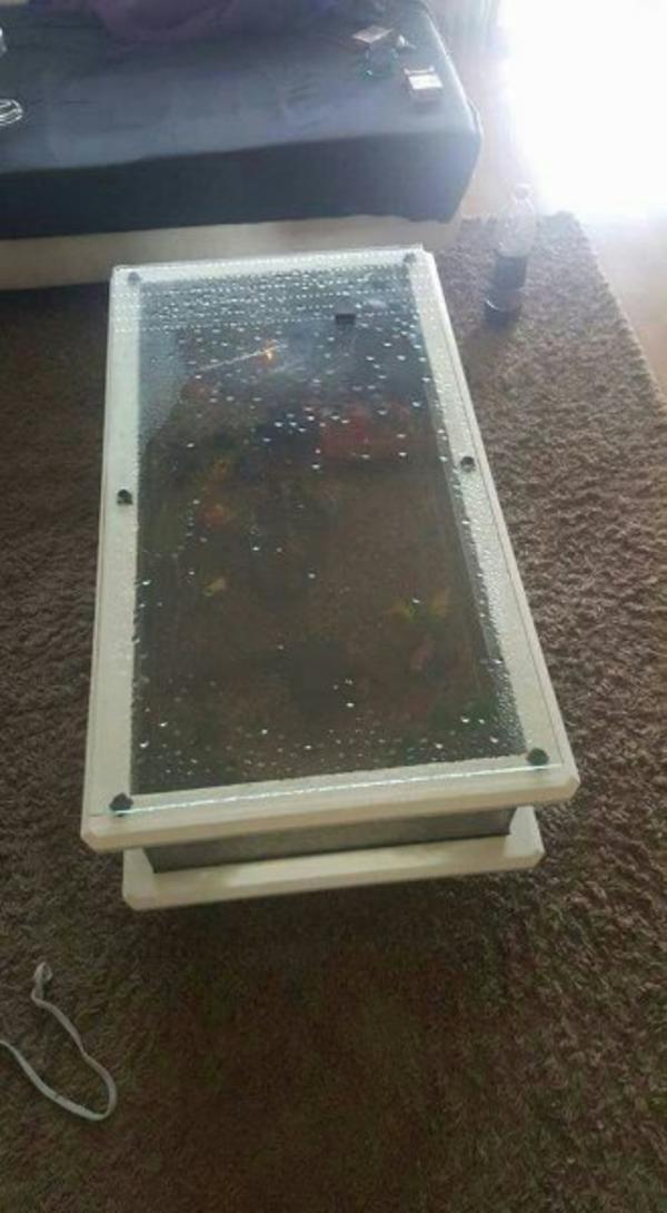 Aquarium Wohnzimmertisch Mit Couchtische