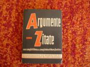 Argumente und Zitate