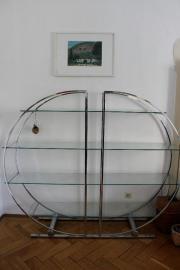 art deco glas regal nachahmung in m nchen designerm bel klassiker kaufen und verkaufen ber. Black Bedroom Furniture Sets. Home Design Ideas